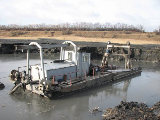 Buy dredge, dredge cleaning, the price of sand, rental, sale, repair